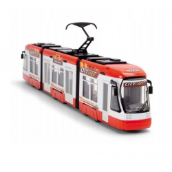 DICKIE Tramwaj City Liner Niebieski 46 cm
