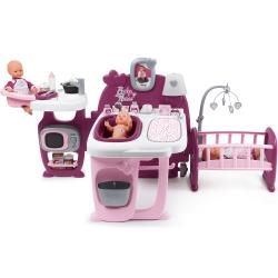 Smoby Kącik opiekunki Baby Nurse opiekunka dla lalek + WODNA RÓŻDŻKA FROZEN GRATIS!