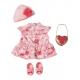 Zestaw Ubranko w Kwiatki dla Baby Annabell