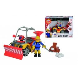 Simba - Strażak Sam Pojazd ratowniczy Śnieżny Quad Mercury z figurką