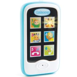 SMOBY Cotoons Niebieski Smartfon Telefon PROMOCJA - 30% RABATU NA DRUGI PRODUKT COTOONS*