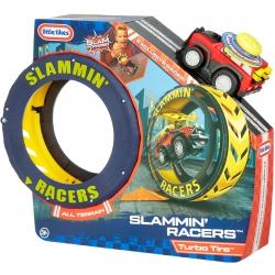 Little Tikes Zestaw Kaskaderski z Autem Slammin' Racers