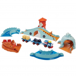 Little Tikes Arena z Pociągiem Slammin' Racers