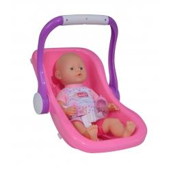 Simba Lalka bobas z nosidełkiem New Born Baby 38 cm