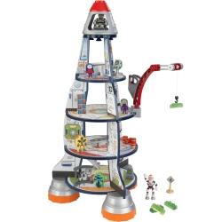 KidKraft Drewniana rakieta małego kosmonauty