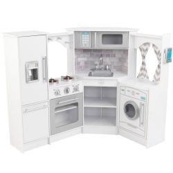 KIDKRAFT Ultimate Narożna Biała Kuchnia