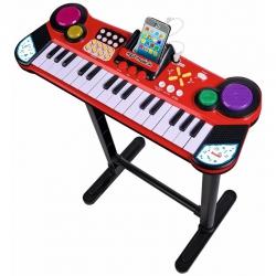 Simba Pianinko Keyboard Z Podstawką Funckja MP3 Dźwięk