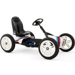 BERG Gokart na pedał BMW Street Racer Pompowane koła 3-8 lat do 50 kg