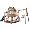 Wielki Plac Zabaw Huśtawka Zjeżdżalnia Domek Richmond na palach