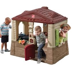 STEP2 Domek Ogrodowy dla dzieci Brązowy
