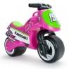 Kawasaki Jeździk Motorek Biegowy dla dzieci różowy Injusa