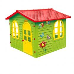Duży Domek Ogrodowy dla Dzieci Otwierane Okna i Drzwi Mochtoys