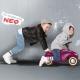 Fioletowy jeżdzik Bobby Car Neo Aubergine BIG
