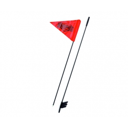BERG Czerwona flaga na maszcie - Buddy