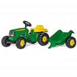 Rolly Toys kid Traktor John Deere z przyczepką