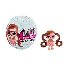 L.O.L. Surprise Hairvibes Tots Series A Kula niepsodzianka z figurką laleczką
