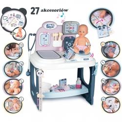 Smoby Baby Care Centrum Opieki + Lalka