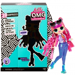 L.O.L. Surprise OMG Doll Series 3- Disco Sk8 Lalka Fashion