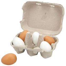 Viga Drewniane Jajka w wytłoczce
