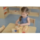Drewniany Sorter Sensoryczny Łączenie Dźwięków Masterkidz