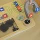 Zabawa Magnetyczna Tabliczka Edukacyjna Masterkidz Kompas