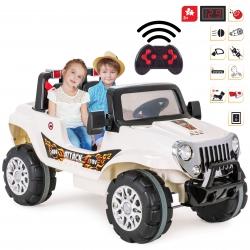 Dwuosobowy Samochód Na Akumulator 12V ATTACK CAR Zdalnie Sterowany WOOPIE