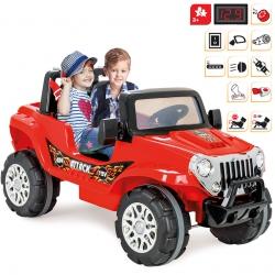 Dwuosobowy Samochód Na Akumulator 12V ATTACK JEEP WOOPIE