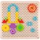 TOOKY TOY Mozaika Układanka z Pinezkami Wpinaczka 88 elementów