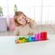 TOOKY TOY Nauka Liczenia i Kolorów Układanka