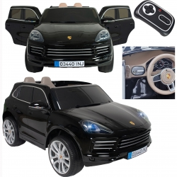 Porshe Cayenne S Samochodzik 12V R/C MP3 Światło Injusa