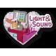 SIMBA Lalka Steffi w Supermarkecie Dźwięk Światło