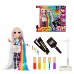 Rainbow High Hair Studio i lalka Amaya Raine 5w1