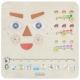 MASTERKIDZ Tablica Edukacyjna Jak Się Czujesz? Nauka Emocji