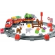 Ecoiffier Abrick Kolejka Pociąg ze zwierzątkami 57 elementów