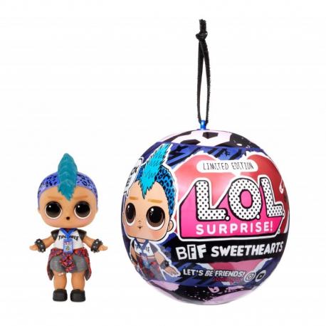 L.O.L. Surprise - Laleczka Chłopiec LOL Valentine's Supreme BFF Sweetheart