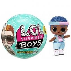 LOL Surprise Boys Laleczka Chłopiec 7 niespodzianek Seria 4