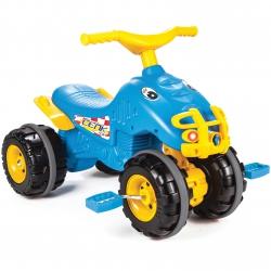 WOOPIE Rowerek Trójkołowy Jeździk Ciche Koła Niebieski