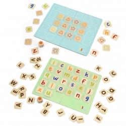 Gra Zapamiętywanie Memo Literki Nauka Alfabetu Viga