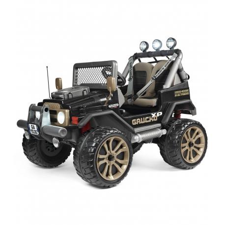 PEG PEREGO Samochód na Akumulator Gaucho XP Pojazd Jeep Terenowy 24V Radio Światła