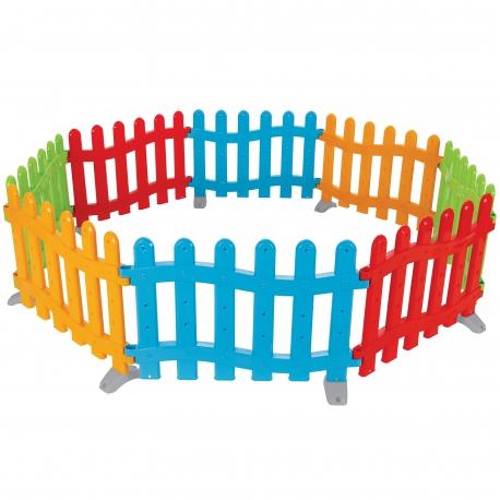 WOOPIE Kolorowy Płotek Kojec Dziecięcy Kącik Zabaw