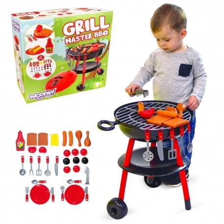 Grill Dla Dzieci Ogrodowy + 25 Akcesoriów Mochtoys