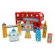 TOOKY TOY Drewniana Zabawka Autobus London Bus z Pasażerami