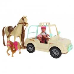 SIMBA Lalka Steffi i Evi z koniem i kucykiem Konna przygoda