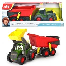 DICKIE ABC Happy Fendt Traktor z Przyczepką 65cm
