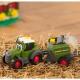 DICKIE ABC Happy Fendt Traktor i maszyna do belowania