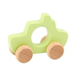 TOOKY TOY Drewniane Autko do Pchania dla Dzieci