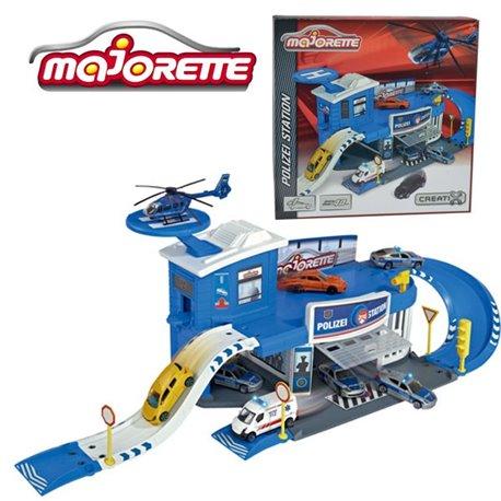Majorette Creatix Stacja Policyjna + auto