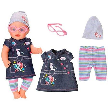 Baby Born Jeansowe Ubranko Spódniczka de Luxe