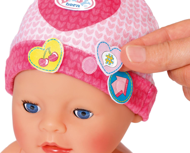 Baby Born czapeczka