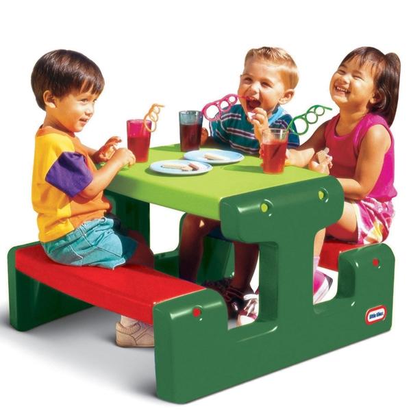 Stolik piknikowy czer